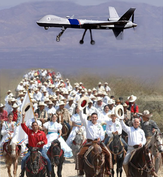 Arizona Governor wants predator drones for the border