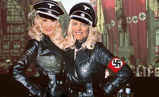 GOP candidate Nazi re-enactment hobby
